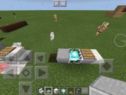 How to Make a Working Clone Machine in Minecraft PE