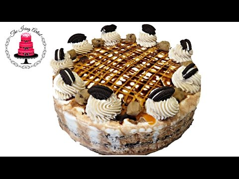 Easy Oreo Blizzard Ice Cream Cake - With The Icing Artist