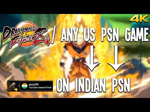 How To Buy / Download Games From US PSN & Play on INDIAN PSN ? (PS4 PRO 4K) - With Proof