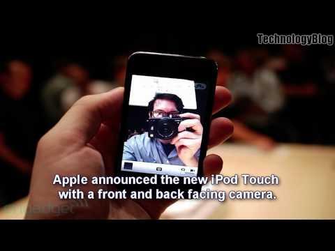 New iPod Touch 4G w/ Camera, Touchscreen iPod Nano 6G, iPod Shuffle 4G, Apple TV (iPod Event Recap)