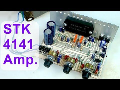 DIY Audio Amplifier Board STK 4141 II ( Hindi Electronics ) ELECTROINDIA