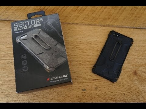 Sector 5 Black Ops Elite Case for iPhone 5/5s - Unboxing and Review
