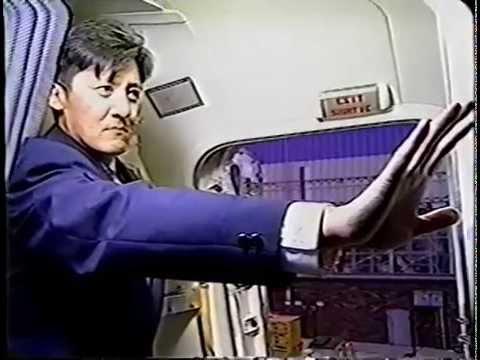 Canadian Airlines Boeing 737 Combi Flight Attendant Training Video