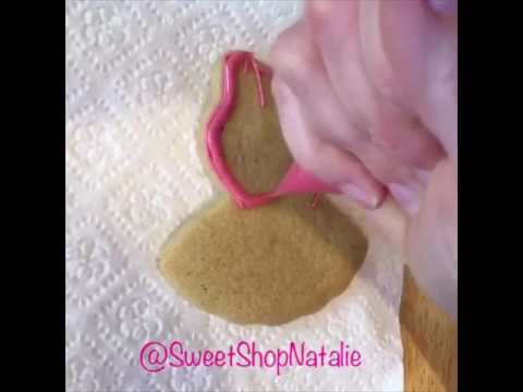 How to decorate a ballerina cookie