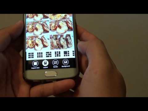 Samsung Galaxy S6 Edge: How to Create a Photo Collage (Easy With Options)