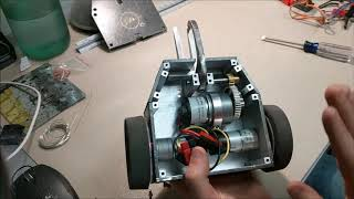 Internal Tour of Cpt. Hook Beetle Weight Battlebot