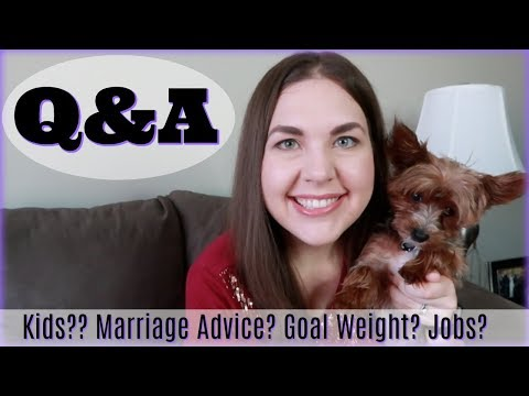Q&A | Kids, Goal Weight, Marriage Advice, How I Met My Husband, and More