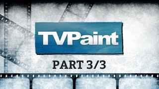 Starting an animated project with TVPaint: Making an animatic (3/3)