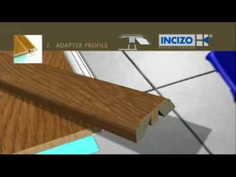Quick-Step Incizo Wood Threshold Installation