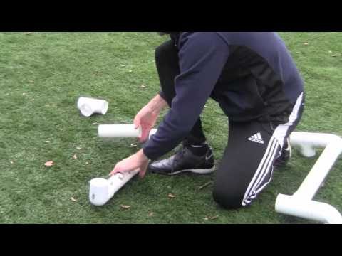 How to Make Futsal and Soccer Goals