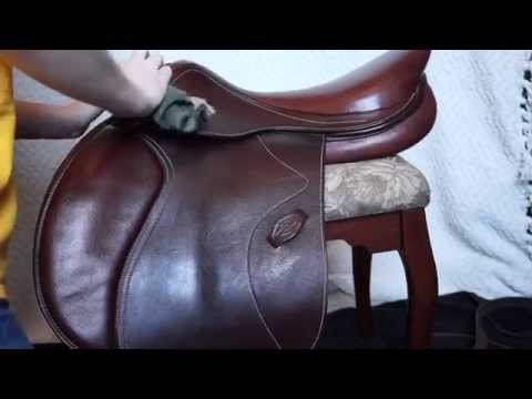 How to clean your saddle!