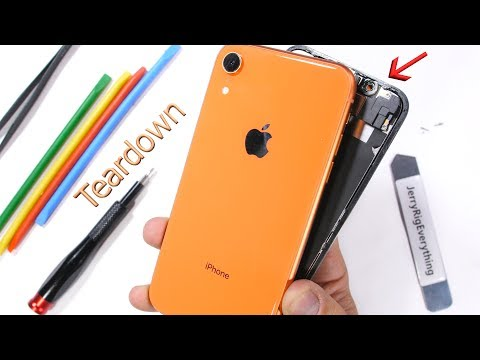 iPhone XR Teardown! - How to open the colored iPhone?