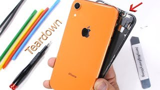 Download iPhone XR Teardown! - How to open the colored iPhone? Video