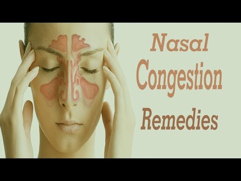 10 Best Home Remedies For Nasal Congestion | Home Remedies For Nasal Congestion