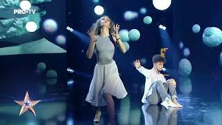 CASIANA OANCEA ȘI ALIN MĂTUȘA - Romanii Au Talent 2019 - Semifinala 2