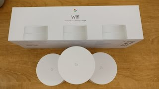 Google Wifi Unboxing and Setup!