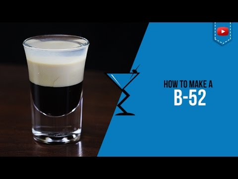 B-52 Shot Recipe - How to make a B52 Shot by Drink Lab (Popular)