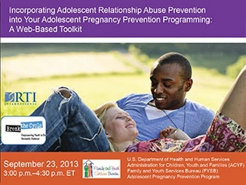 Incorporating Relationship Abuse Prevention into Your Adolescent Pregnancy Prevention Programming