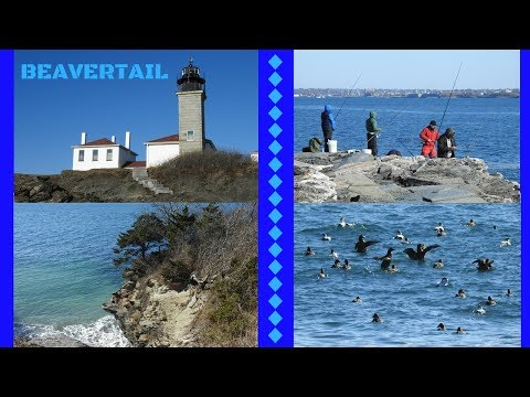 Beautiful Beavertail State Park  ~ Jamestown Rhode Island