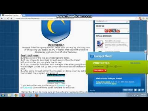 Hotspot Shield Free Download (Voiced!) How to