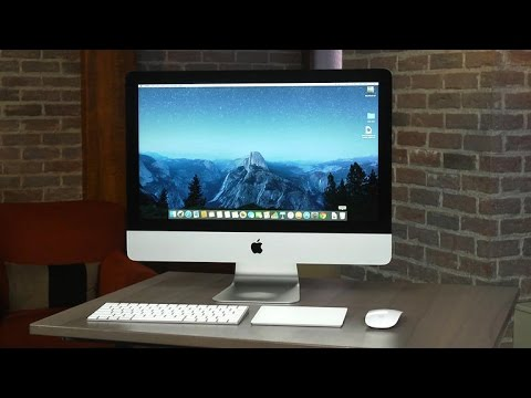 Apple's 21.5-inch iMac gets a new 4K display