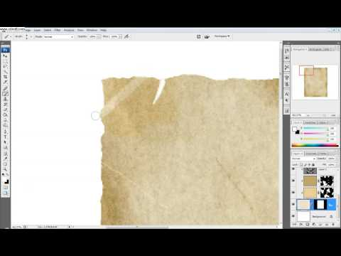 Photoshop Tutorial: Part 2 Make a western style wanted poster