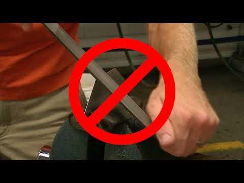 Metal File Safety