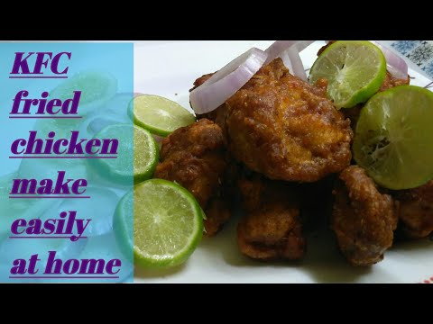 Chicken fried Recipe | How to make KFC Chicken Fry at home | Chicken fry |
