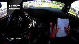 WRC - Neste Rally Finland 2018: ONBOARD Paddon SS17