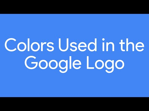 Colors Used in the Google Logo | Google Logo Hex Codes