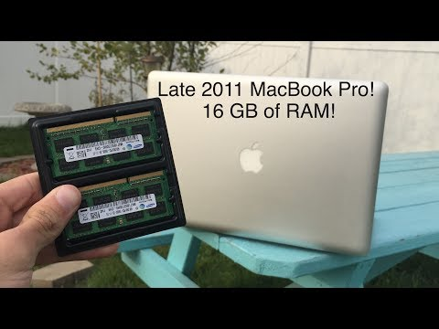 Upgrading the Late 2011 MacBook Pro to 16 GB of RAM!