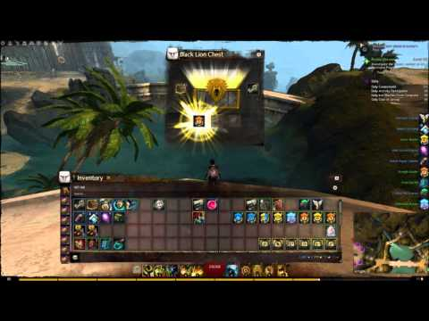 GW2 - Opening 100 Black Lion Chests Sep 29, 2015