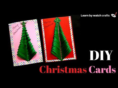 Make a Christmas card at Your Home (DIY) | Learn By Watch Crafts