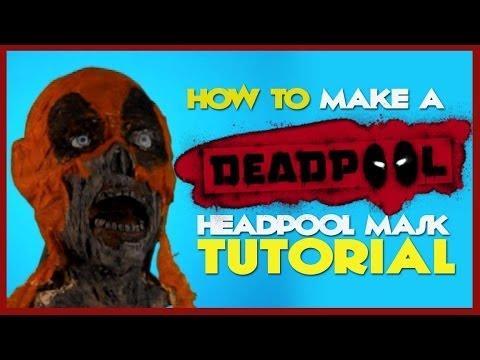 How To Make a Deadpool Headpool Mask - Tutorial