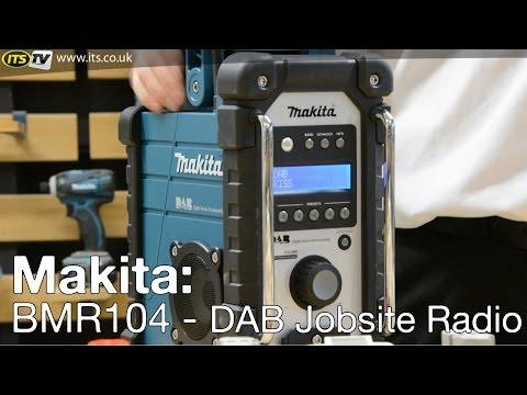 Makita BMR104 DAB Digital Job Site Radio - ITS TV