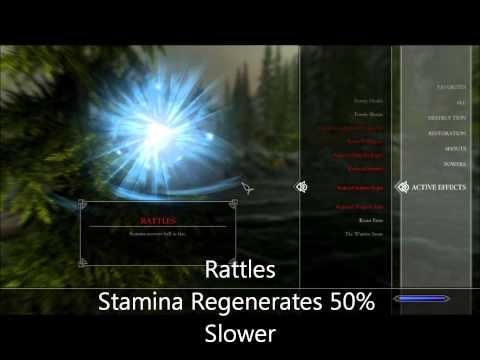 The Elder Scrolls V: Skyrim Disease's
