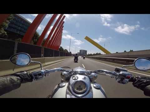 Melbourne to Echuca on Indian Motorcycles