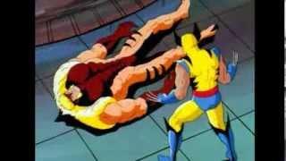 Wolverine vs Sabretooth Part2