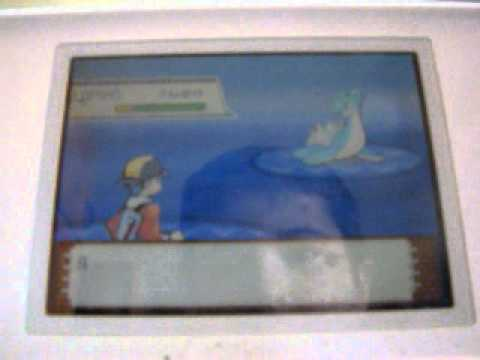 Catching a Lapras in Pokemon Heart Gold