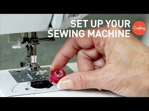 How to set up a sewing machine | Craftsy Sewing Tutorials with Angela Wolf