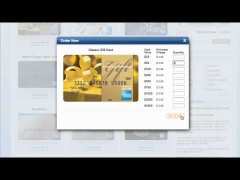 American Express Gift Cards 2013 - How to use Promo Codes for AmericanExpress.com/gift-cards