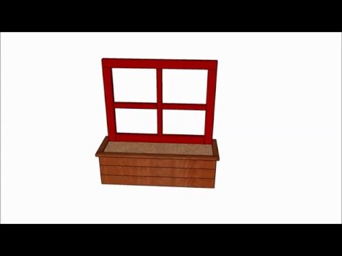 Window flower box plans