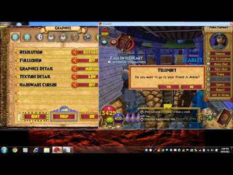 Wizard101-Arena Glitch