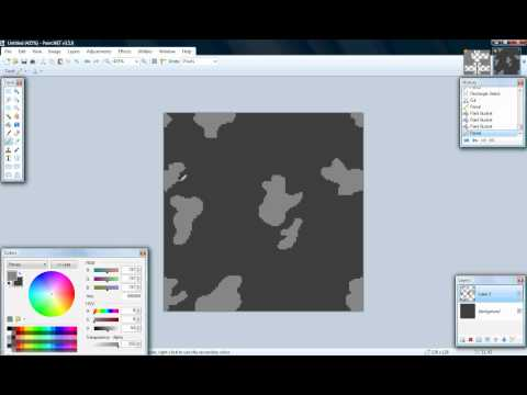 Paint.NET - Camouflage Textures
