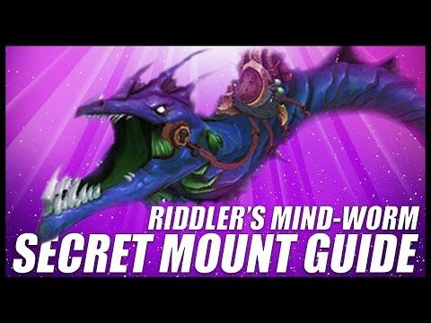 How to get Riddler's Mind-Worm    World of Warcraft  (7.2) Mount Guide