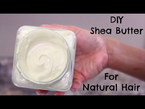 DIY Shea Butter Mix for Natural Hair | Leave-in Cream for Curly Hair