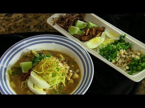 Vegetarian Khao Soi - Coconut based Noodle Soup