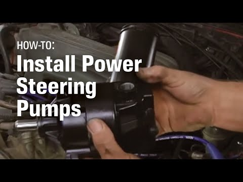 How to Install the Power Steering Pump - AutoZone Car Care
