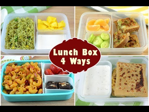 Indian Lunch Box Ideas - Part 2 | Kids Lunch Box Recipes | Quick Lunch Box