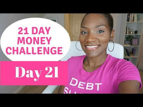 21 Day Money Challenge   Day 21  Accountability is Key   FrugalChicLife
